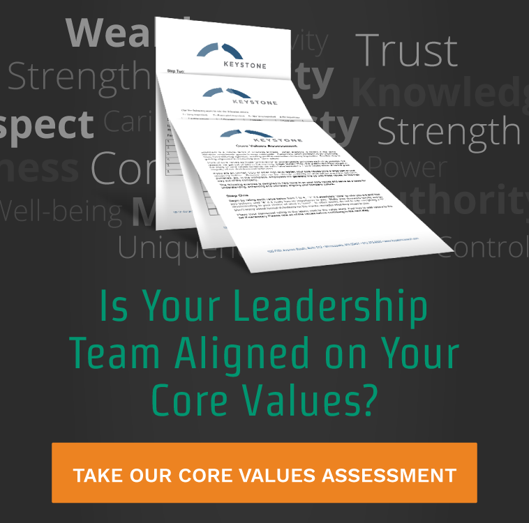 Is Your Leadership Team Aligned on Your Core Vlaues?